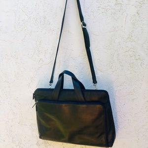 Lodis laptop bag Briefcase black bag with strap